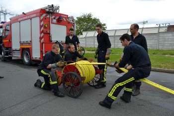 Les sapeurs-pompiers du centre de Massy étaient mobilisés pour l'exercice