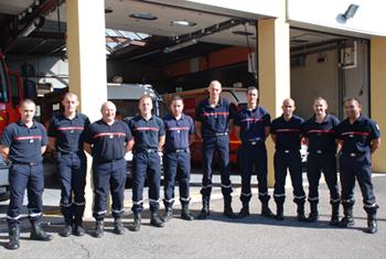 Les sapeurs-pompiers du centre d'Athis-Mons ont connu une augmentation de l'activité opérationnelle en 2012 de 7,81%