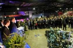 cérémonie des voeux du Sdis de l'Essonne