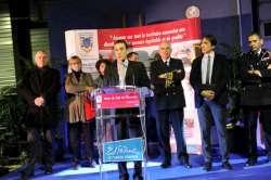 Le président du Sdis, Jérôme Cauët, présente ses voeux