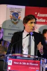 Le président du Conseil général de l'Essonne, Jérôme Guedj, adresse ses voeux