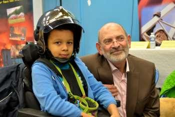 Lubin, 7 ans, l'un des sourires du Téléthon 2014