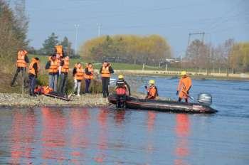 Sauvetage de personnes se trouvant en zone inondée