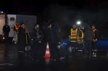 Photo du tournage du clip