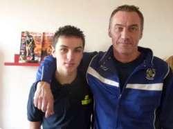 Erwan avec son père