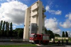 image de l'école départementale d'incendie et de secours