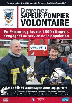 Affiche de promotion du volontariat