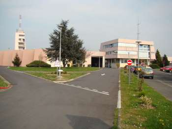 poste de commandement du groupement Centre à Arpajon