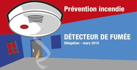 Le service d partemental d 39 incendie et de for Obligation detecteur de fumee